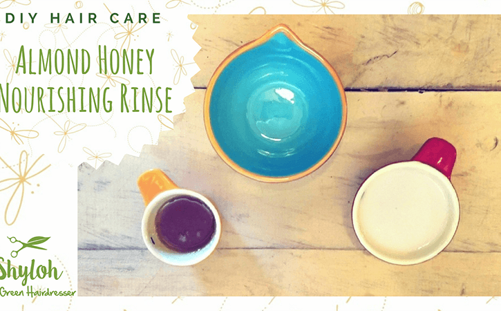 DIY Hair Care: Almond Honey Nourishing Rinse